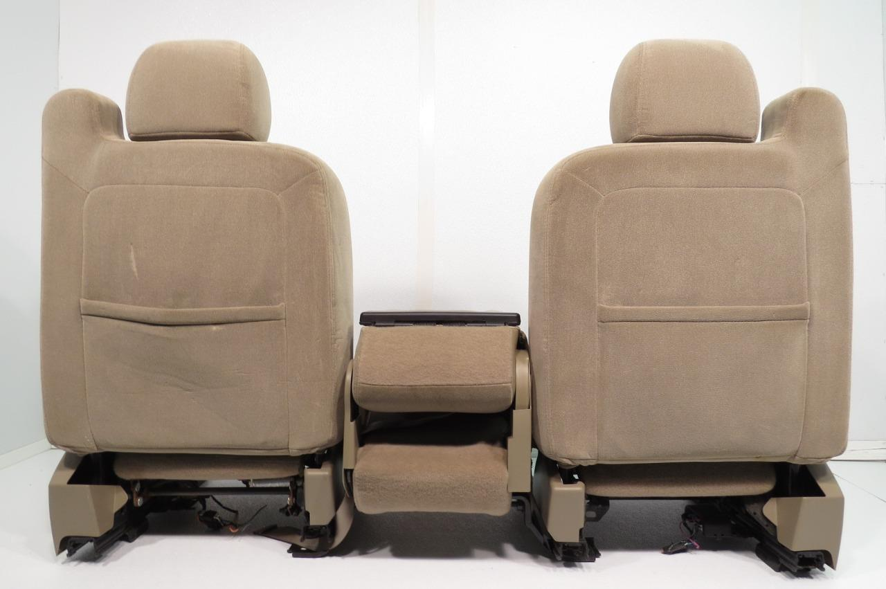 Chevy Silverado Replacement Seats >> Replacement Chevy Silverado Sierra Tahoe Yukon Suburban OEM Cloth Front Seats & Jump Seat 2000 ...
