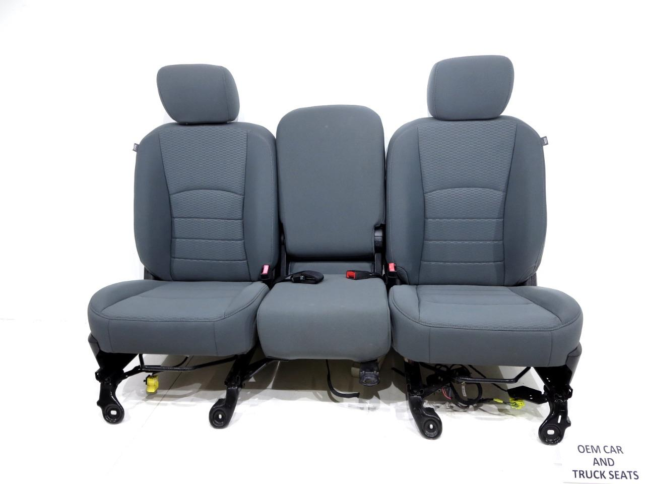 Office 365 Cherokee >> Replacement Dodge Ram Oem Front Cloth Seats Gray 2009 2010 ...