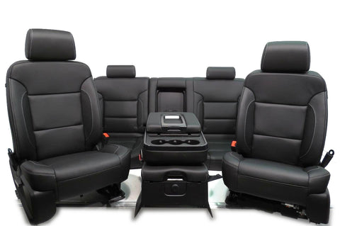 Replacement GMC Sierra Chevy Silverado Seats Sierra Crew ...