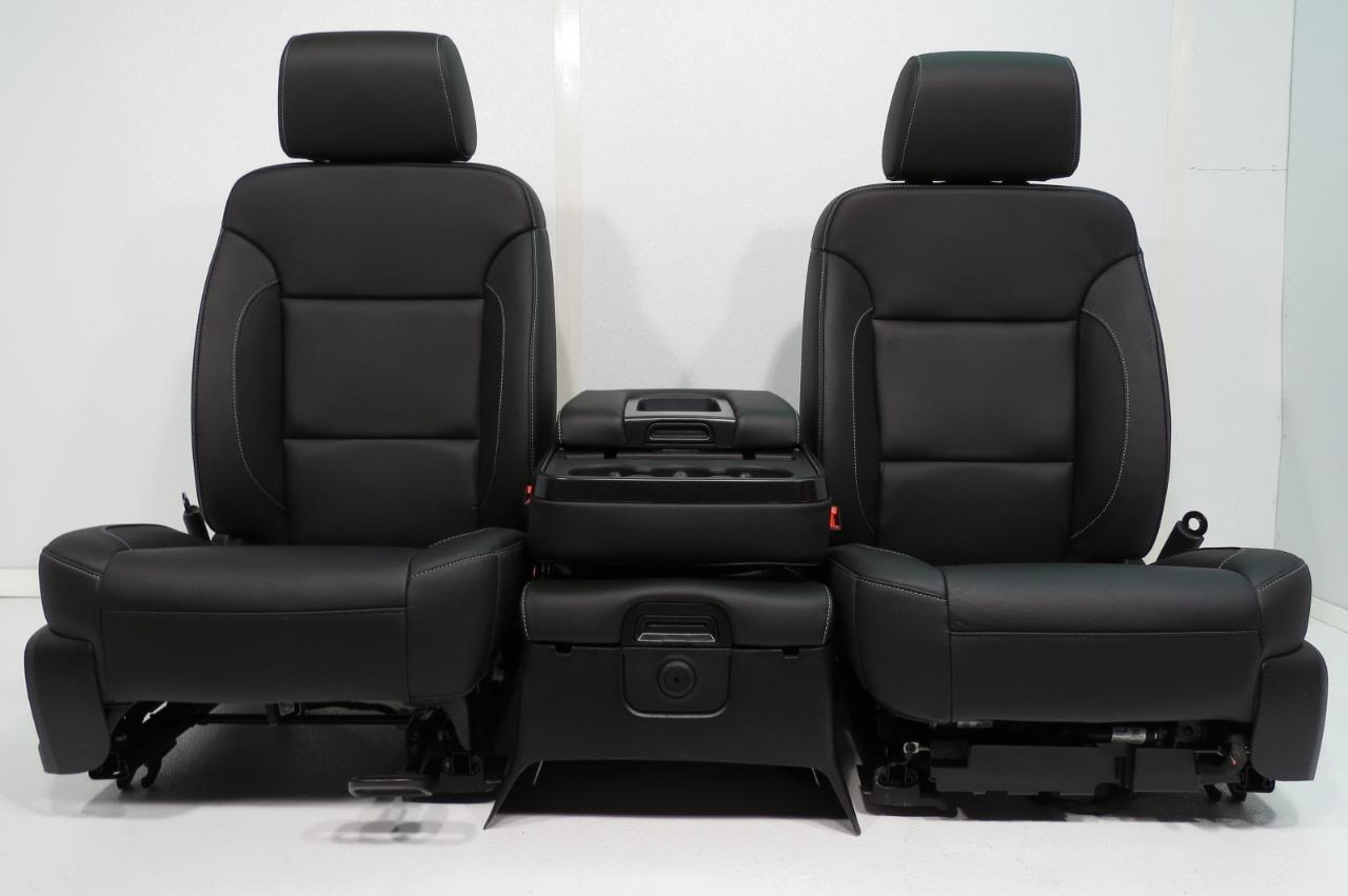 Chevy Silverado Replacement Seats >> Replacement Gmc Sierra Chevy Silverado Seats Sierra Crew Cab Black
