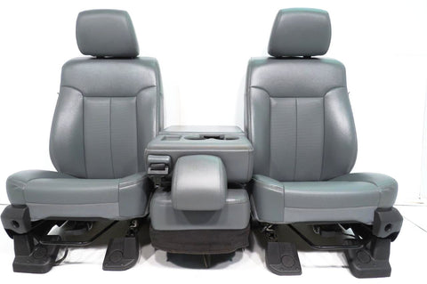 Ford Super DutyFront Seats & Center Console Jump Seat 1999-2007, 2008-2010, 2011 2012 2013 2014 2015 2016