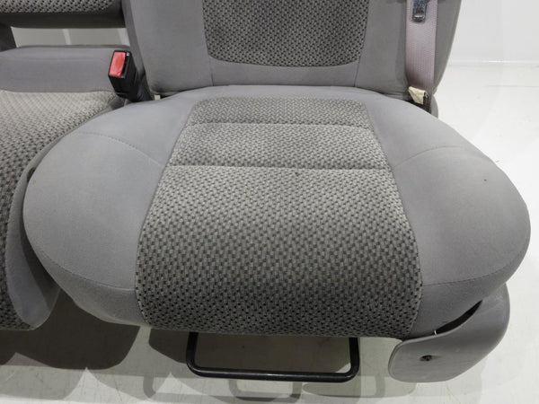 Ford Focus 1999 >> Replacement Ford F150 F-150 Oem 60-40 Cloth Seats W/ Integrated Seatbelts 2001 2002 2003 | Stock ...