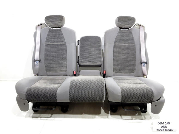 Replacement Ford F150 F 150 Oem 60 40 Cloth Seats W