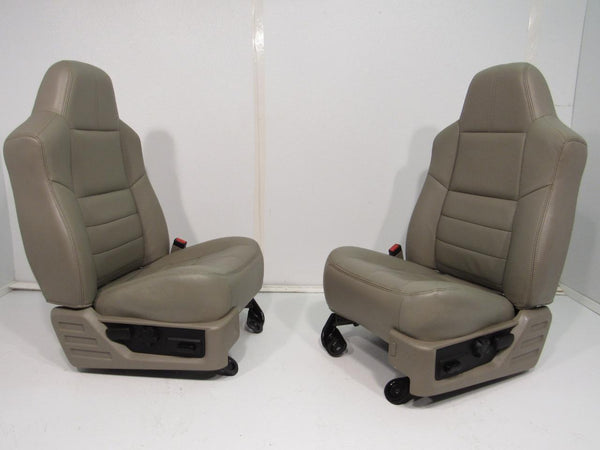 Replacement Ford Super Duty Leather Seats Front Seat Rear