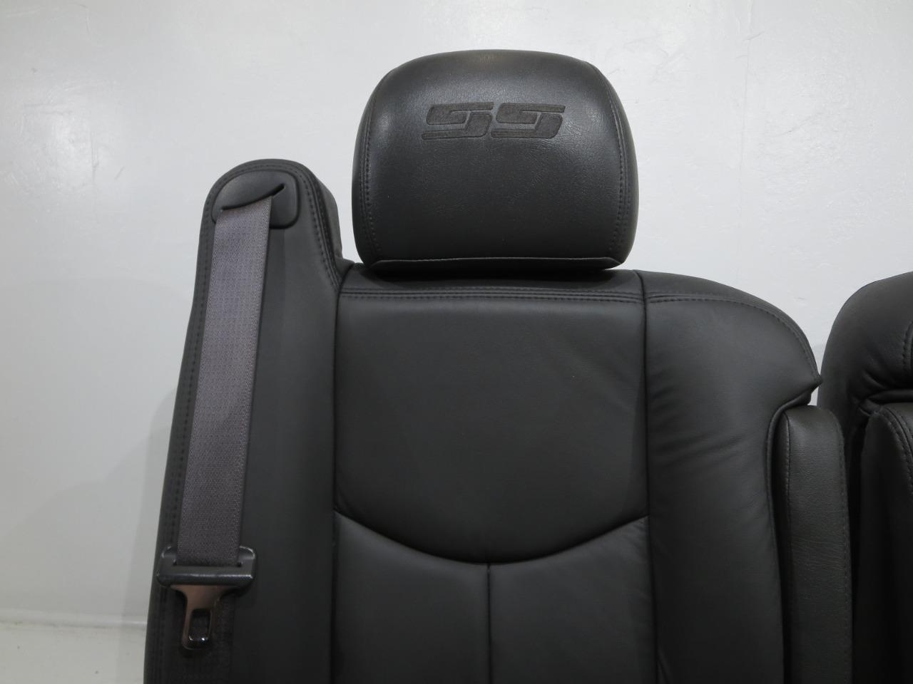 2003 Ford F150 For Sale >> Replacement Chevy Silverado Ss New Leather Oem Seats 2003 2004 2005 2006 ' Gmc Sierra | Stock ...