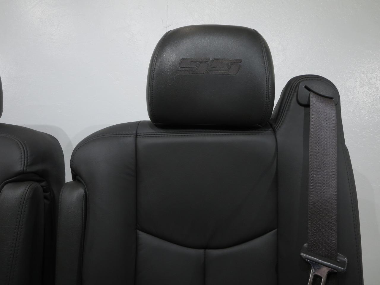 Chevy Silverado Replacement Seats >> Replacement Chevy Silverado Ss New Leather Oem Seats 2003 2004 2005