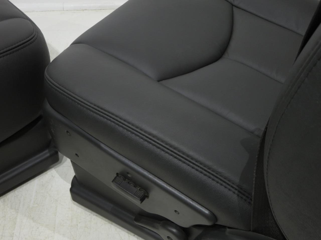 Used Chevy Avalanche >> Replacement Chevy Silverado Ss New Leather Oem Seats 2003 ...