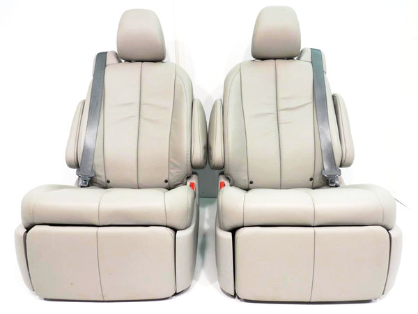 Used Toyota Sienna For Sale >> Replacement Toyota Sienna OEM Recliner Rear Seats w/ Footrest & Mounting Brackets 2011 2012 2013 ...