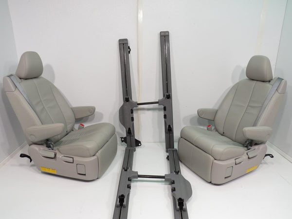 sienna seats toyota footrest recliner rear mounting brackets oem replacement chair van