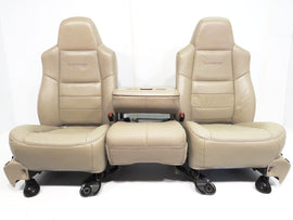 Ford Super Duty Lariat Front Seats 1999 2000 2001 2002 2003 2004 2005 2006 2007