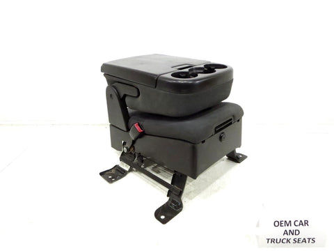 Gm Chevy Tahoe Oem Black Cloth Center Console Jump Seat 2007 2008 2009 2010 2011 2012 2013 2014