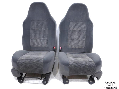 Ford F-150 Expedition F150 Oem Bucket Seats 1998 1999 2000 2001 2002 2003