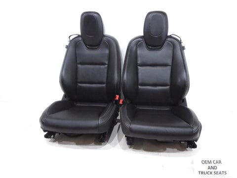 Chevy Camaro Ss 2ss Heated Leather Oem Sport Seats 2010 2011 2012 2013 2014 2015