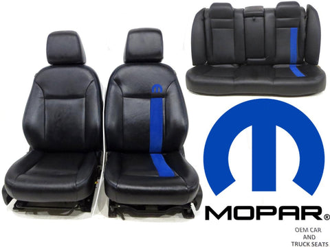 Sensational Dodge Charger Mopar Edition Mopar 11 Front Rear Seats 2011 2012 2013 2014 2015 2016 2017 Gmtry Best Dining Table And Chair Ideas Images Gmtryco