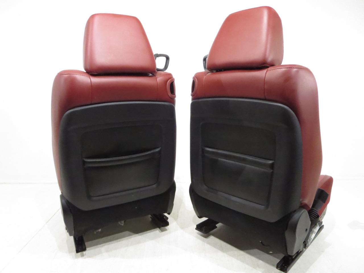 Replacement Dodge Challenger Red Leather Ac Heated Seats