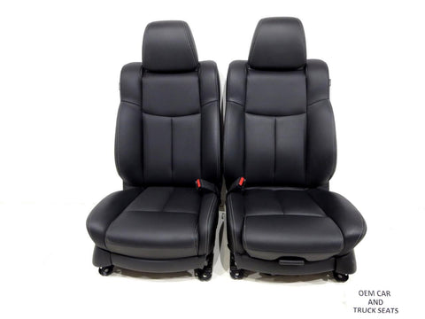 Nissan Maxima Heated Leather Front Seats 2009 2010 2011 2012 2013 2014