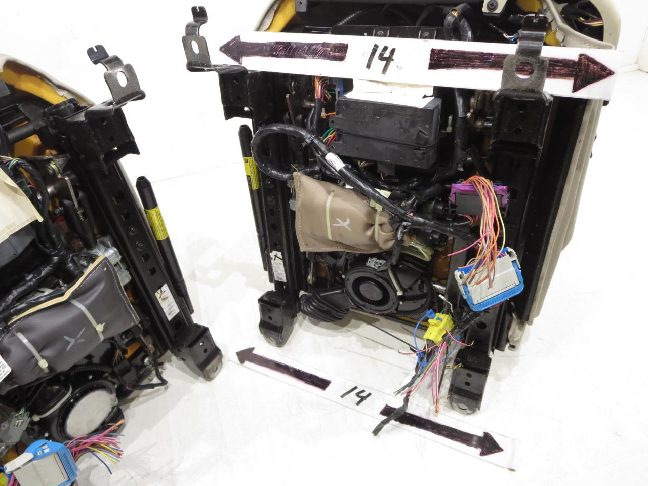 Replacement Cadillac Xlr Oem Shale Leather Seats 2004 2005 2006 2007 Wiring Harness 2008 2009