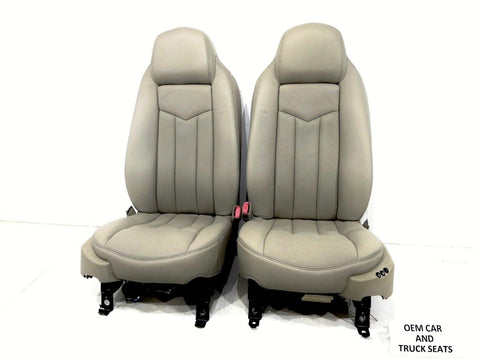 2009 Chevy Silverado For Sale >> Replacement Cadillac Xlr Oem Shale Leather Seats 2004 2005 ...
