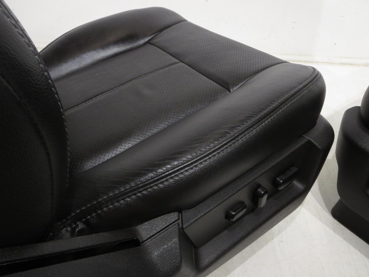 Center Console Lid Replacement Leather Cover 2011-2012 F250 F350 King Ranch