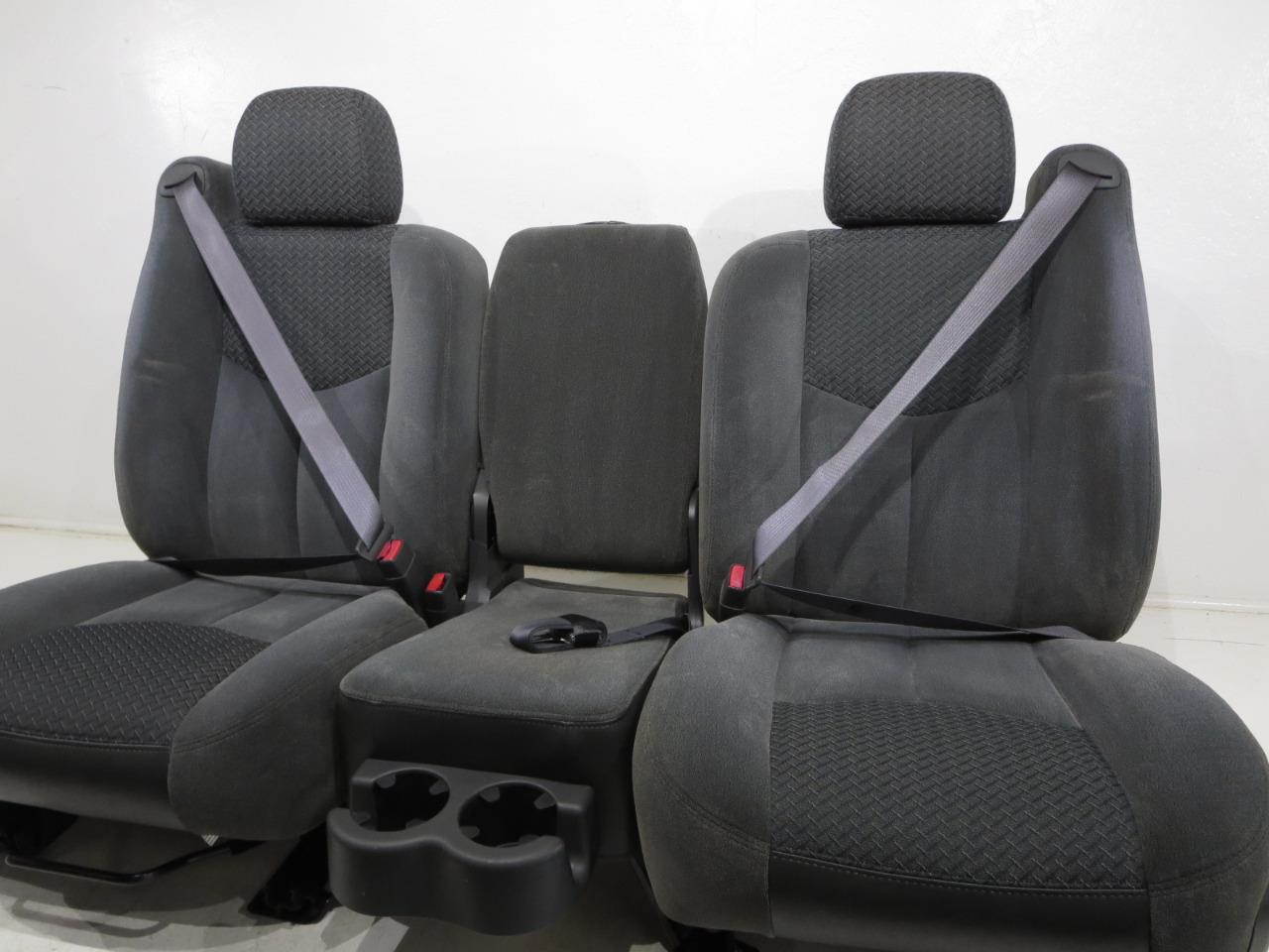 chevy silverado seats 2005 2004 avalanche cloth oem 2006 2003 gm replacement grey