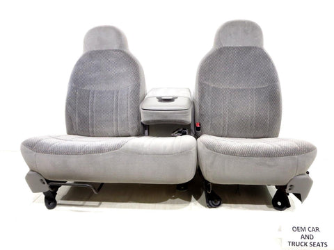 Ford F150 F-150 Oem 60-40 Cloth Seats 1997 1998 1999 2000 2001 2002 2003 2004
