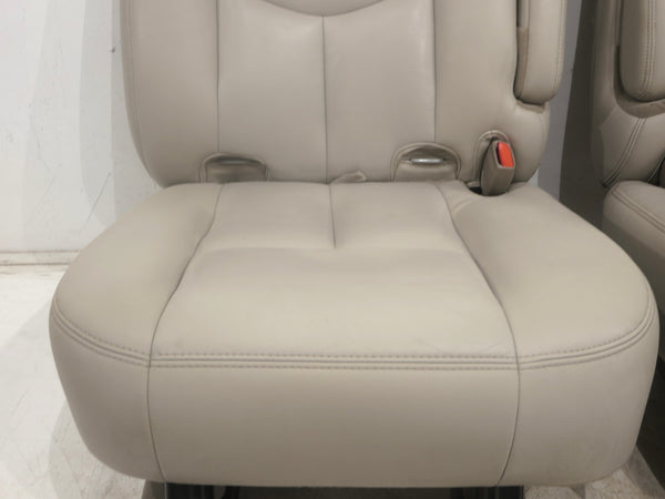 seats bucket rear 2004 2001 leather suburban replacement