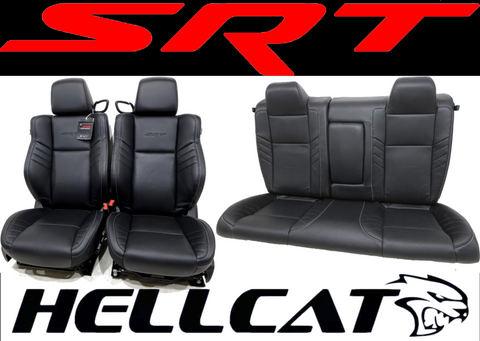 Dodge Challenger Hellcat A/c Cooled Heated Laguna Leather Seats 2008 - 2012 2013 2014 2015 2016 2017