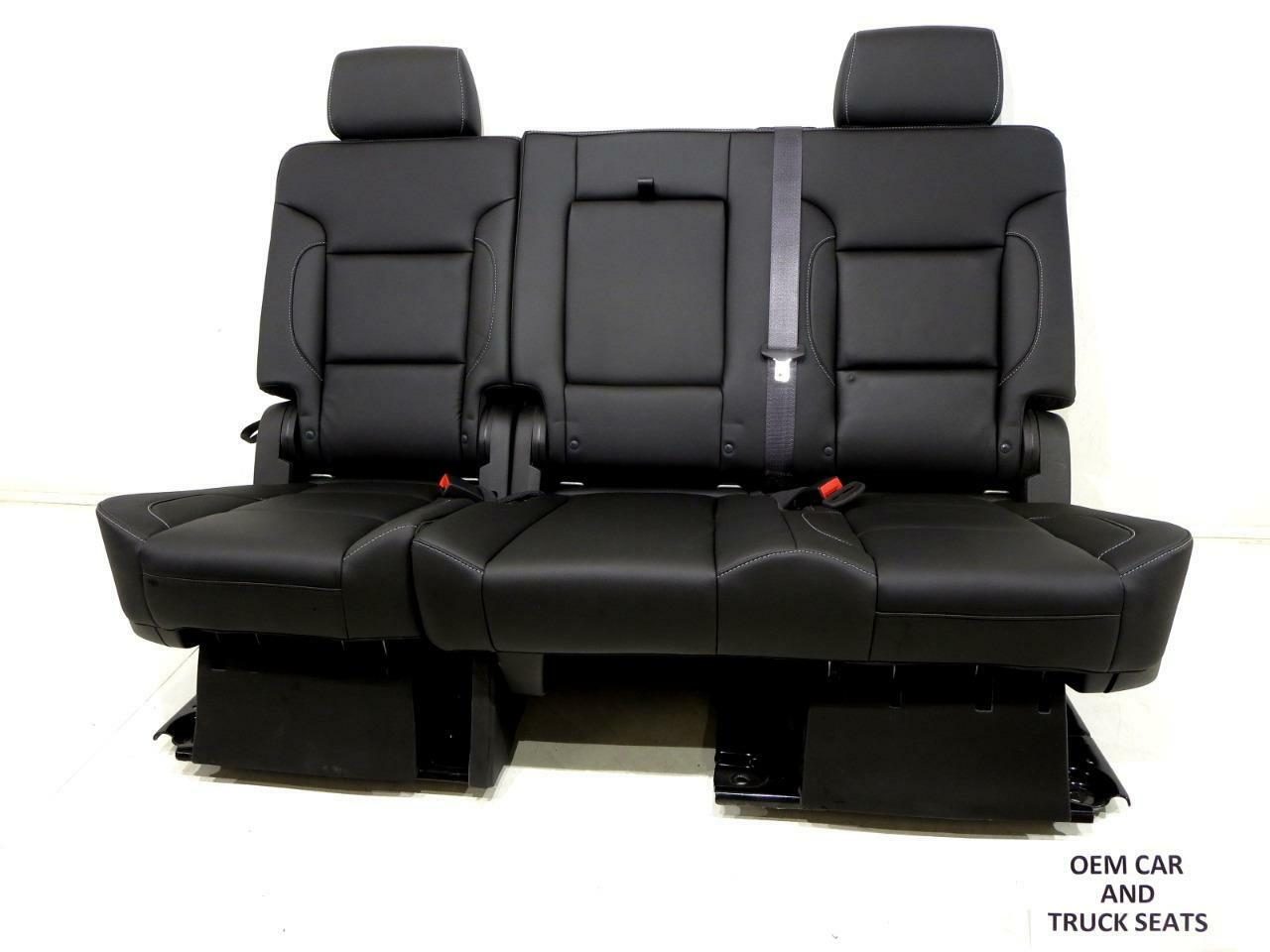 Cool Gm Tahoe Yukon Oem Leather Rear Bench Seat Second Row 60 40 2015 2016 2017 Ocoug Best Dining Table And Chair Ideas Images Ocougorg