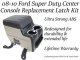 (NEW) Ford Super Duty 2008 2009 2010 Center Console Latch Replacement F250 F350 F450