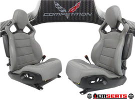 Chevy Corvette C7 Competition Seats Lt3 Heated Cooled Leather 2014 2015 2016 2017 2018 2019
