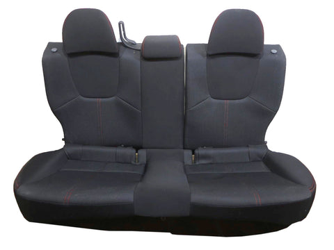 Subaru Impreza Wrx Sti Black Cloth Rear Seat Hatchback 2012 2013 2014 2015
