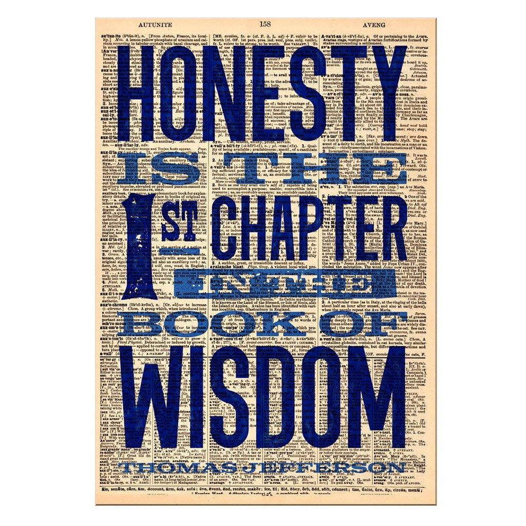 Honesty Dictionary Print - Library of Congress Shop