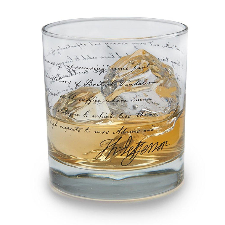 'I Cannot Live Without Books' Old Fashion Glass