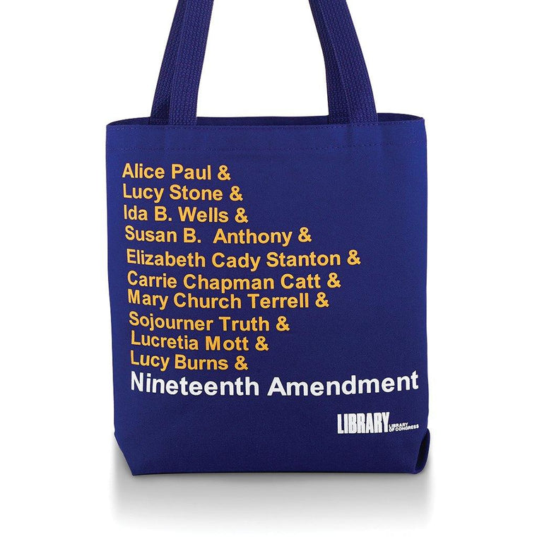 Nineteenth Amendment Tote Bag
