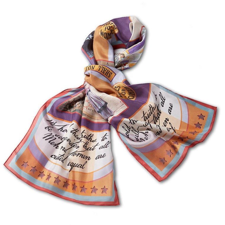 Women's Suffrage Silk Scarf