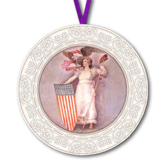 2019 Columbia Annual Ornament (W) - Library of Congress Shop