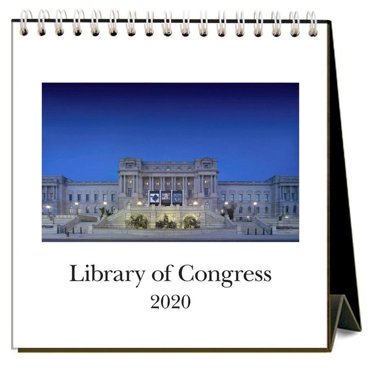 2020 Library of Congress Desk Calendar