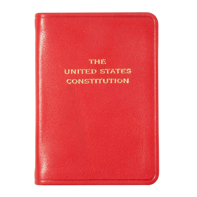 Mini Leather U.S. Constitution