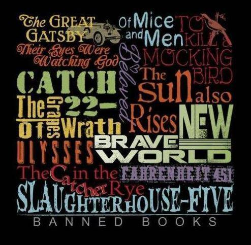 Banned Books T-Shirt - Library of Congress Shop