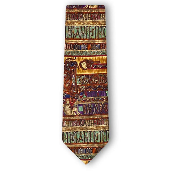 Book of Kells Silk Tie - Library of Congress Shop