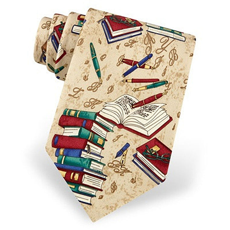 Well Read Silk Tie