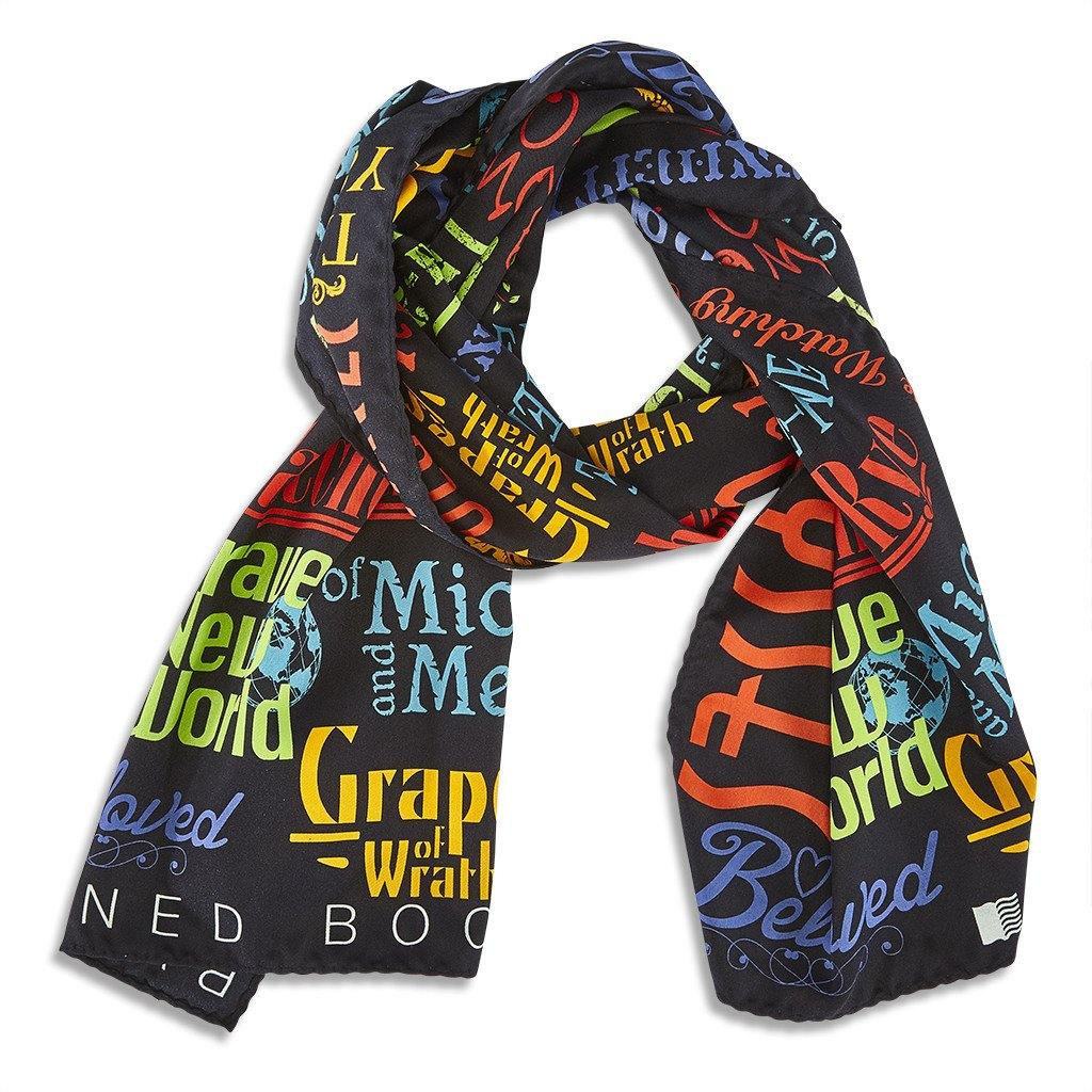 Banned Book Scarf (W) - Library of Congress Shop