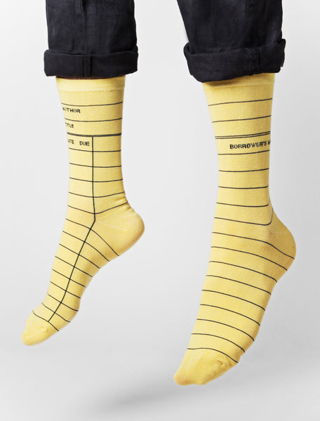 Library Card Socks - Library of Congress Shop