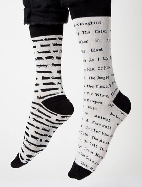 Banned Book Socks - Library of Congress Shop