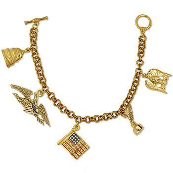 DC Charm Bracelet - Library of Congress Shop