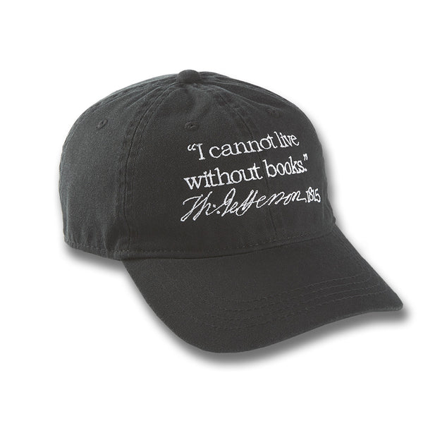 40993b8ff9d ... I Cannot Live Without Books Baseball Cap - Library of Congress Shop ...
