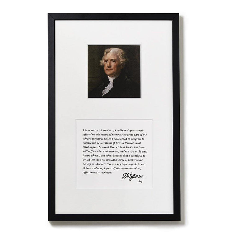 Jefferson Framed Print