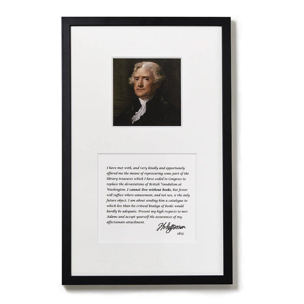 Jefferson Framed Print - Library of Congress Shop
