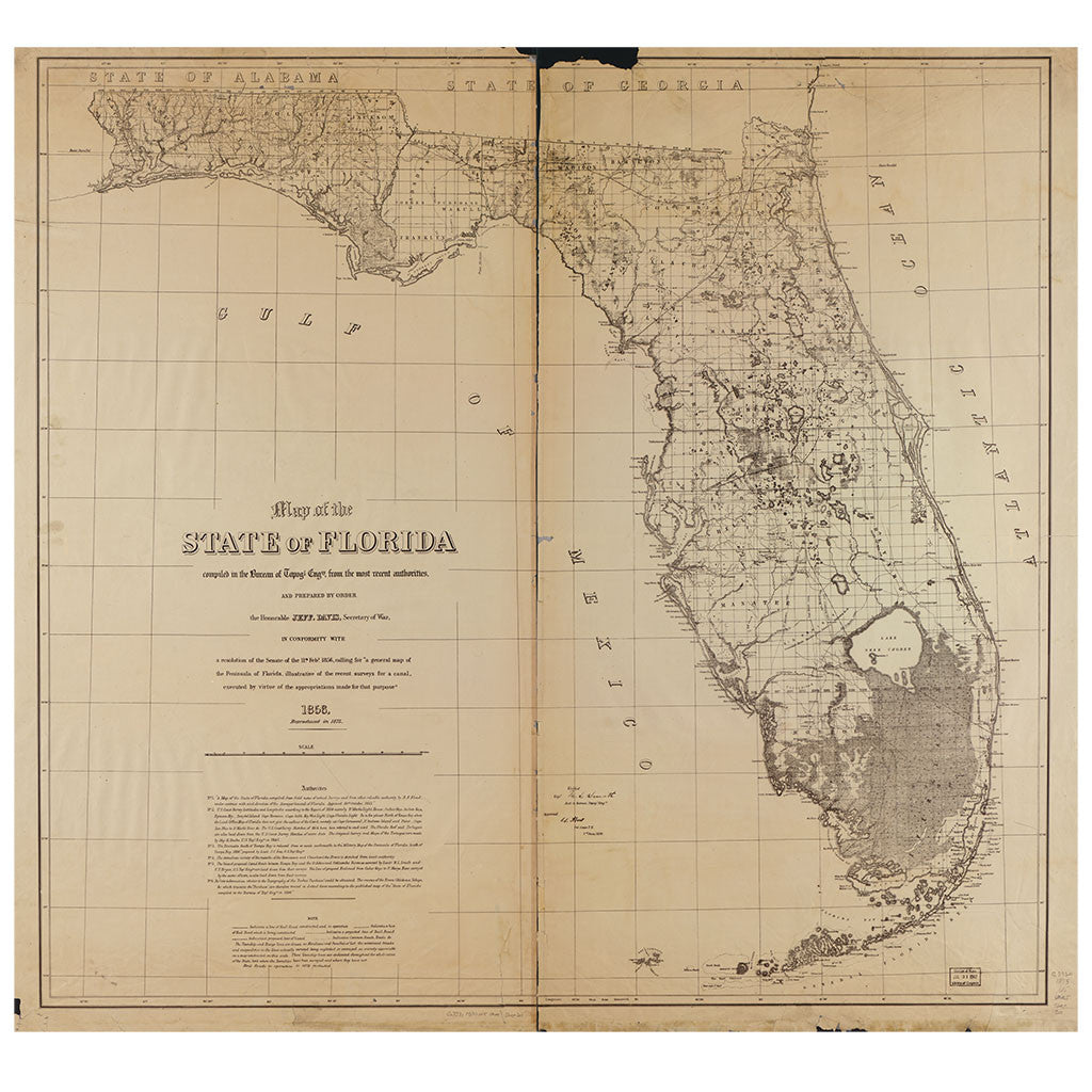 Our State Map of Florida