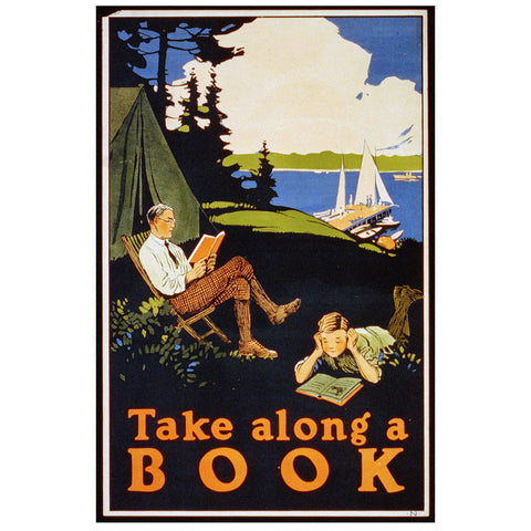 Take Along a Book Print